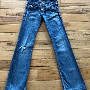 BKE Stella Stretch Bootcut Jeans